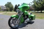 Harley-Davidson Touring  Street Glide Synergy Green YR 2011